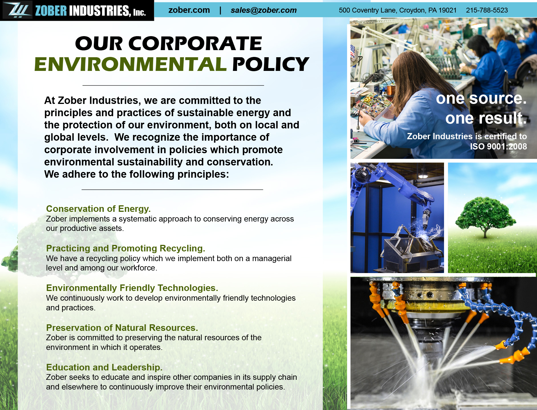 Corporate Sustainability Policy
